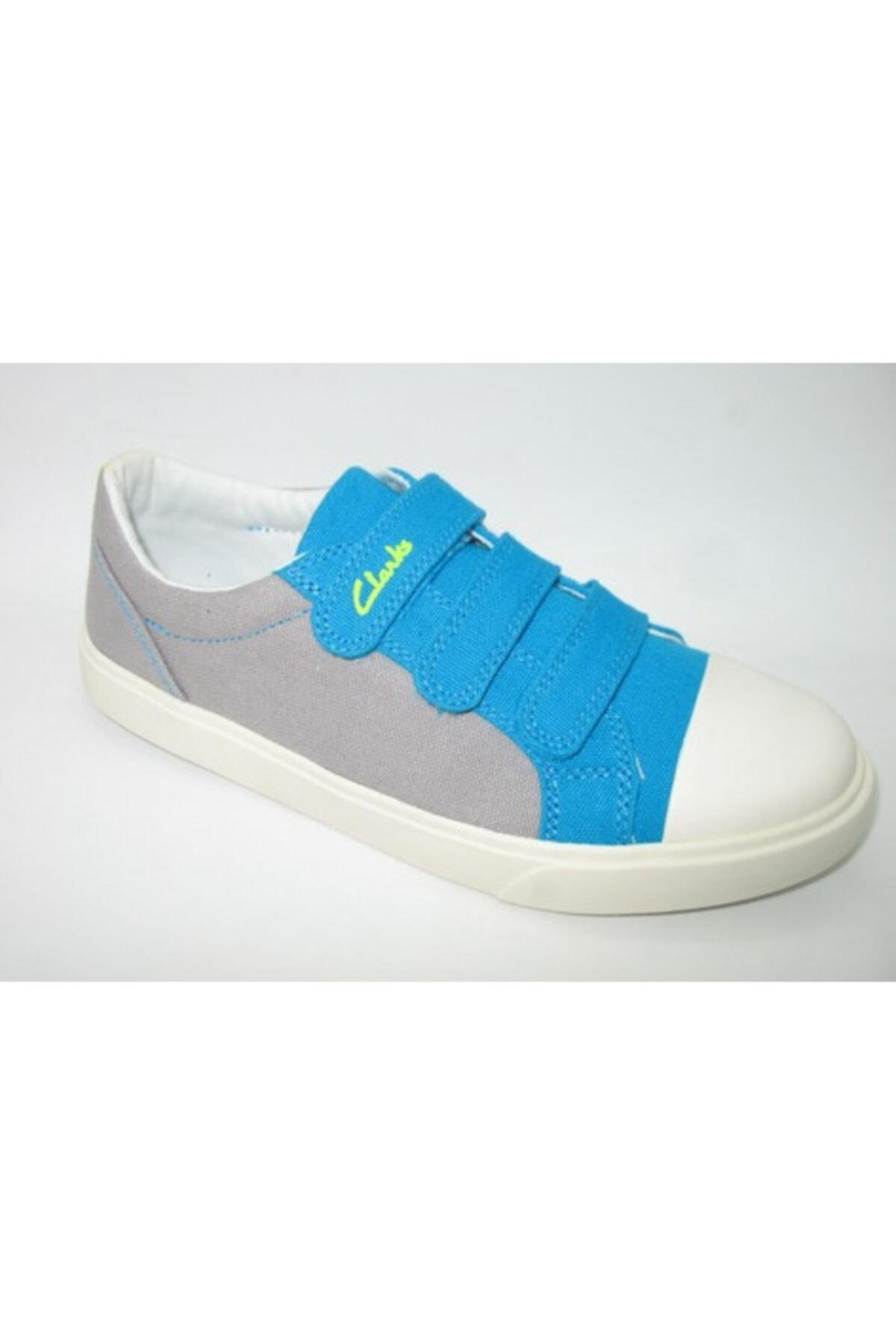 CLARKS Çocuk Keten Ayakkabı 1