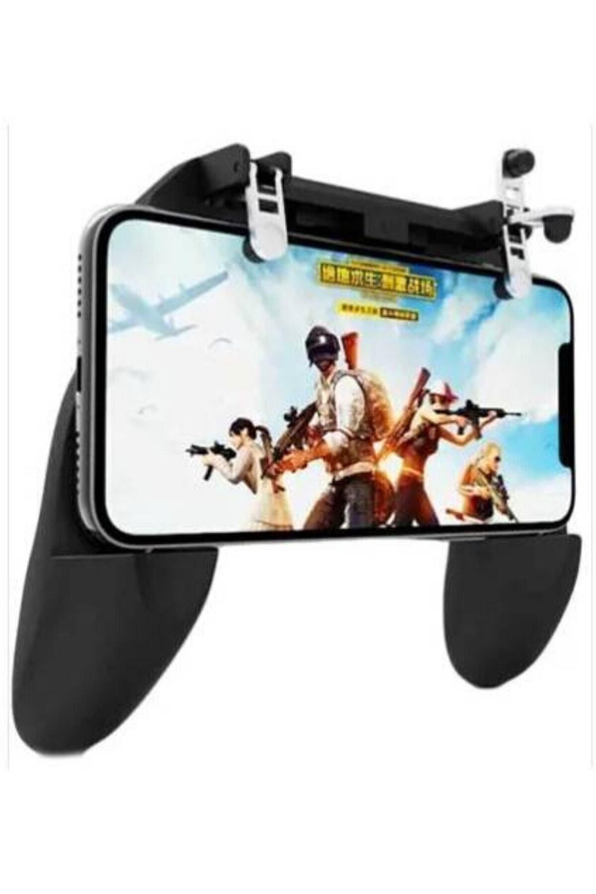 BaykalElektronik Pubg Gamepad Metal Tetik W10 Joystick Oyun Konsol Ateş Düğme L1 R1 Aparatı 2