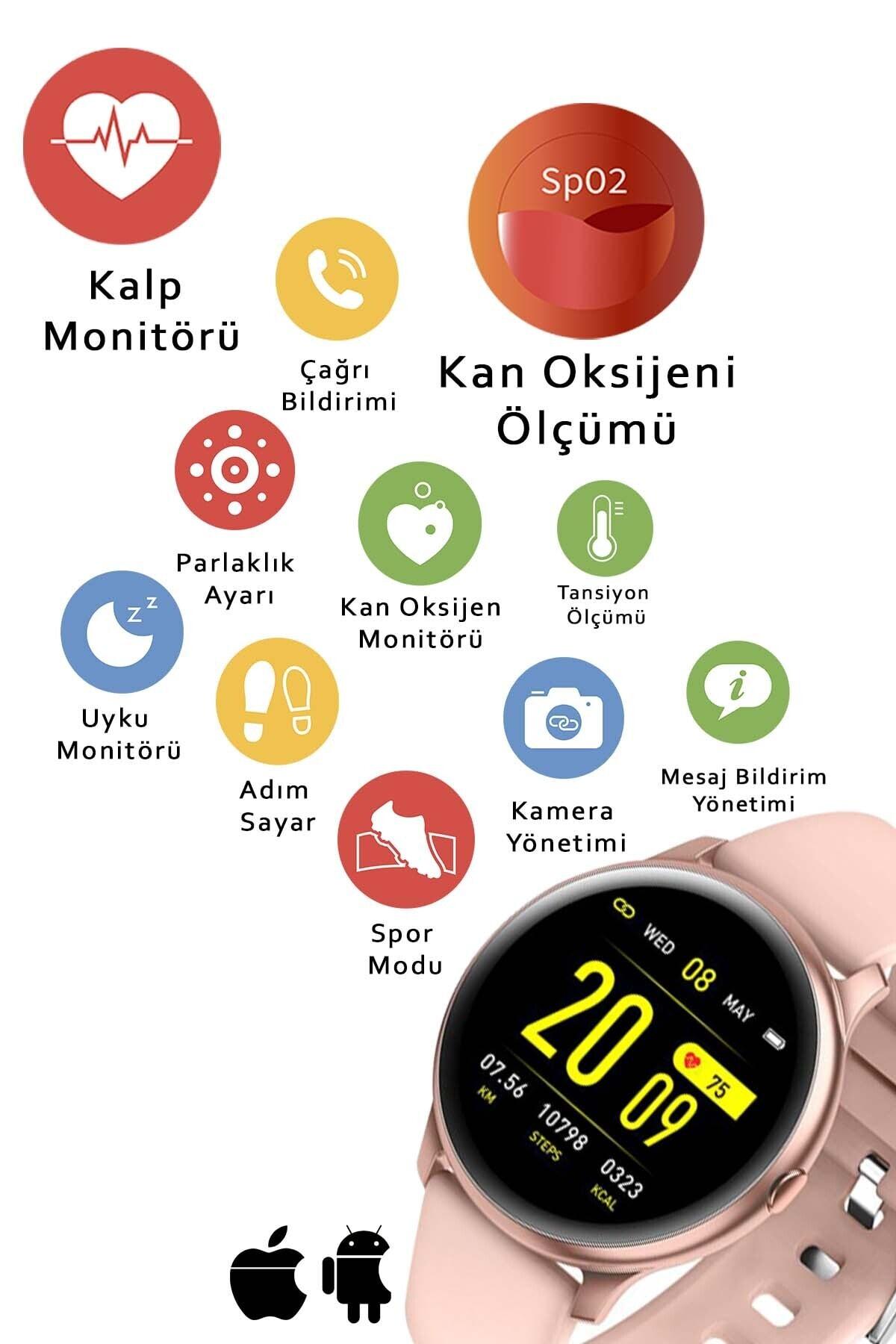 Daniel Klein Akıllı Saat Pembe Oval 2