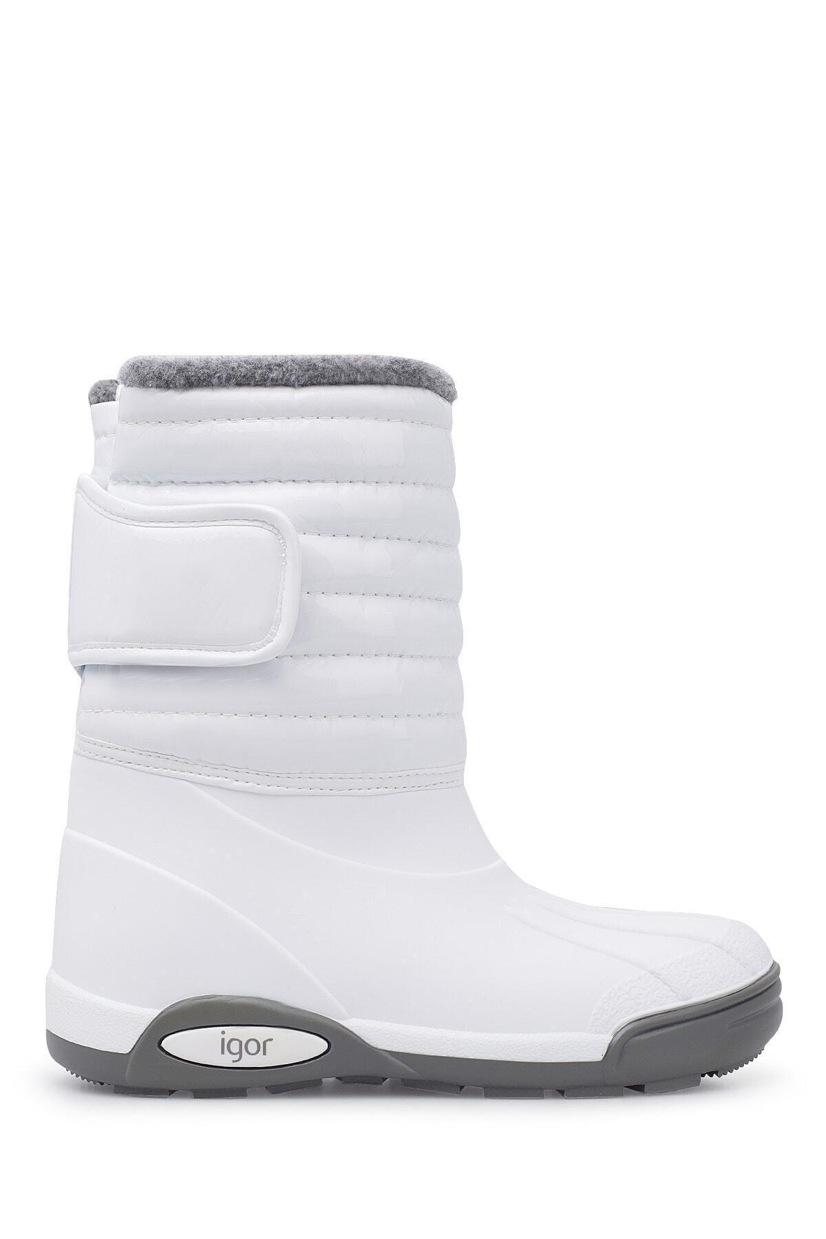 IGOR W10168-001 Beyaz Unisex Çocuk Yağmur Çizmesi 100318354 1