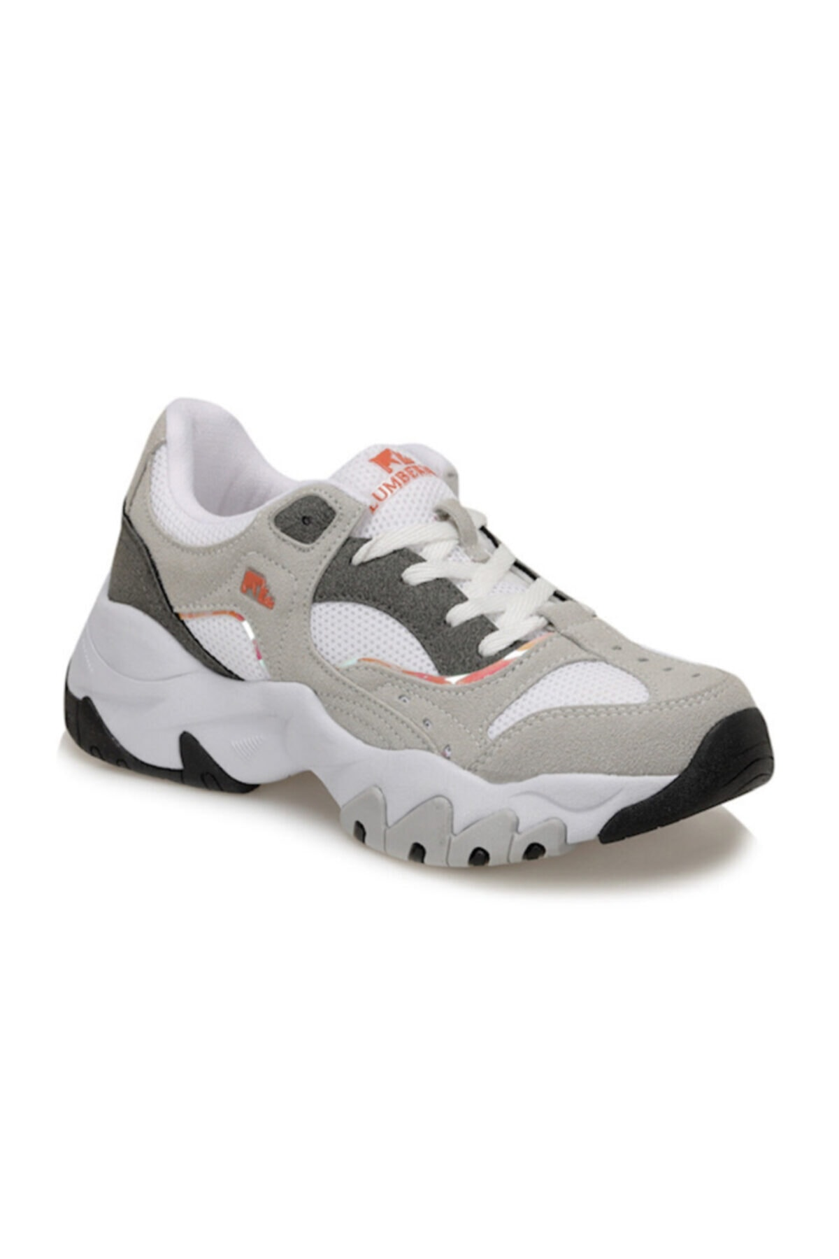 lumberjack Kadın Beyaz Topuklu Sneaker Ayakkabı Regına 1