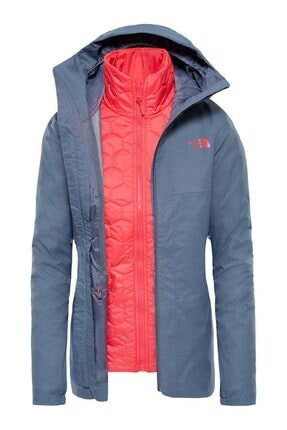 THE NORTH FACE Kadın Gri W Hikesteller Triclimate Ceket