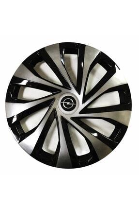 SAHLAN Opel Astra Uyumlu 15 Inç Piano Black Siyah Jant Kapağı 4 Adet