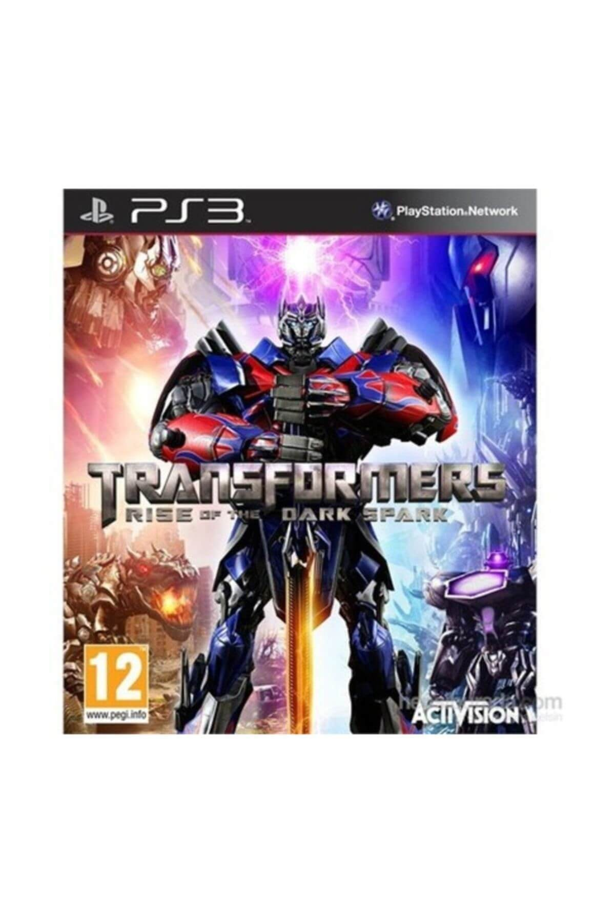 ACTIVISION Transformers Rise Of The Dark Spark Ps3 Oyunu 1
