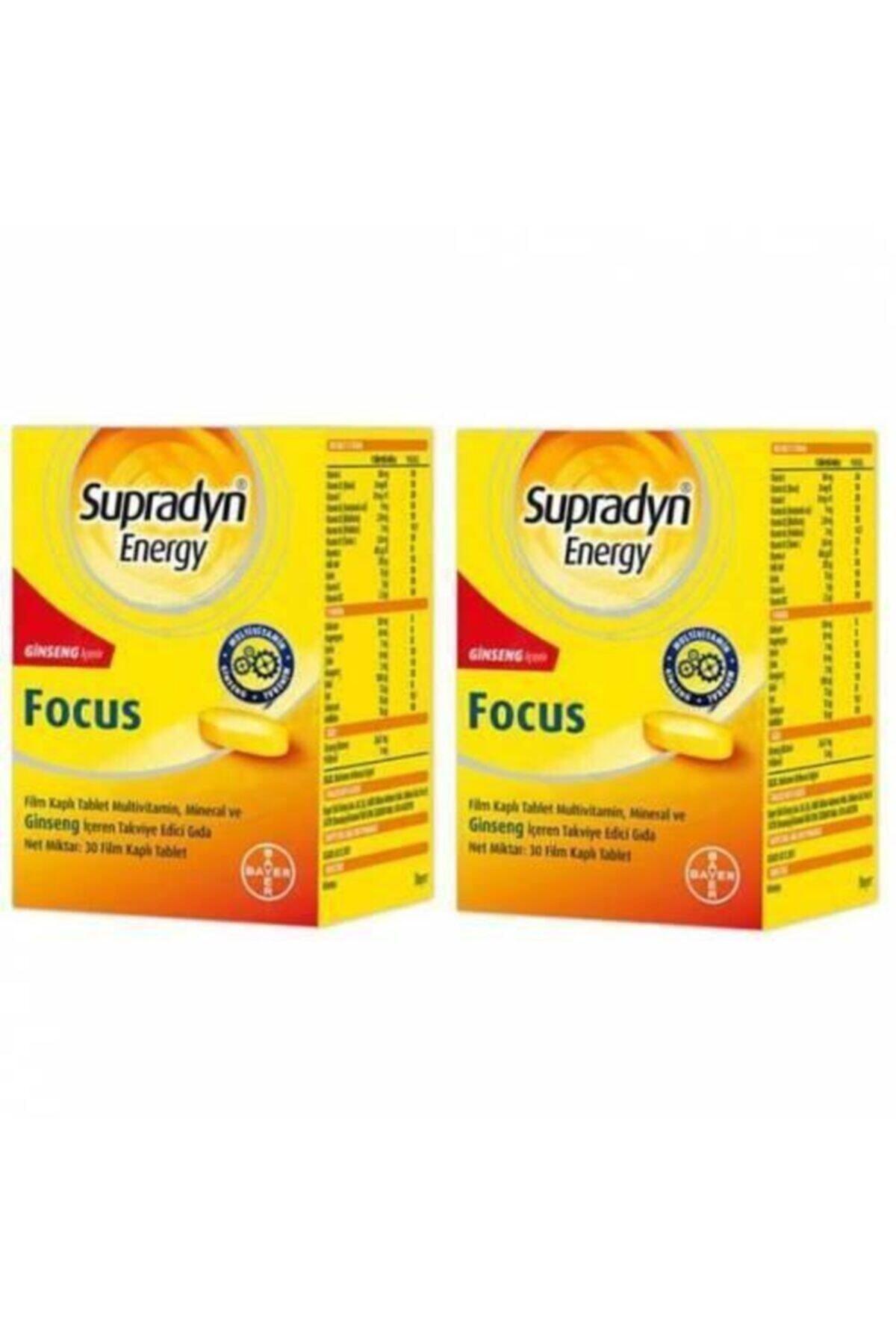 Supradyn Energy Focus 30 Tablet 2 Kutu Skt:03/2022 1