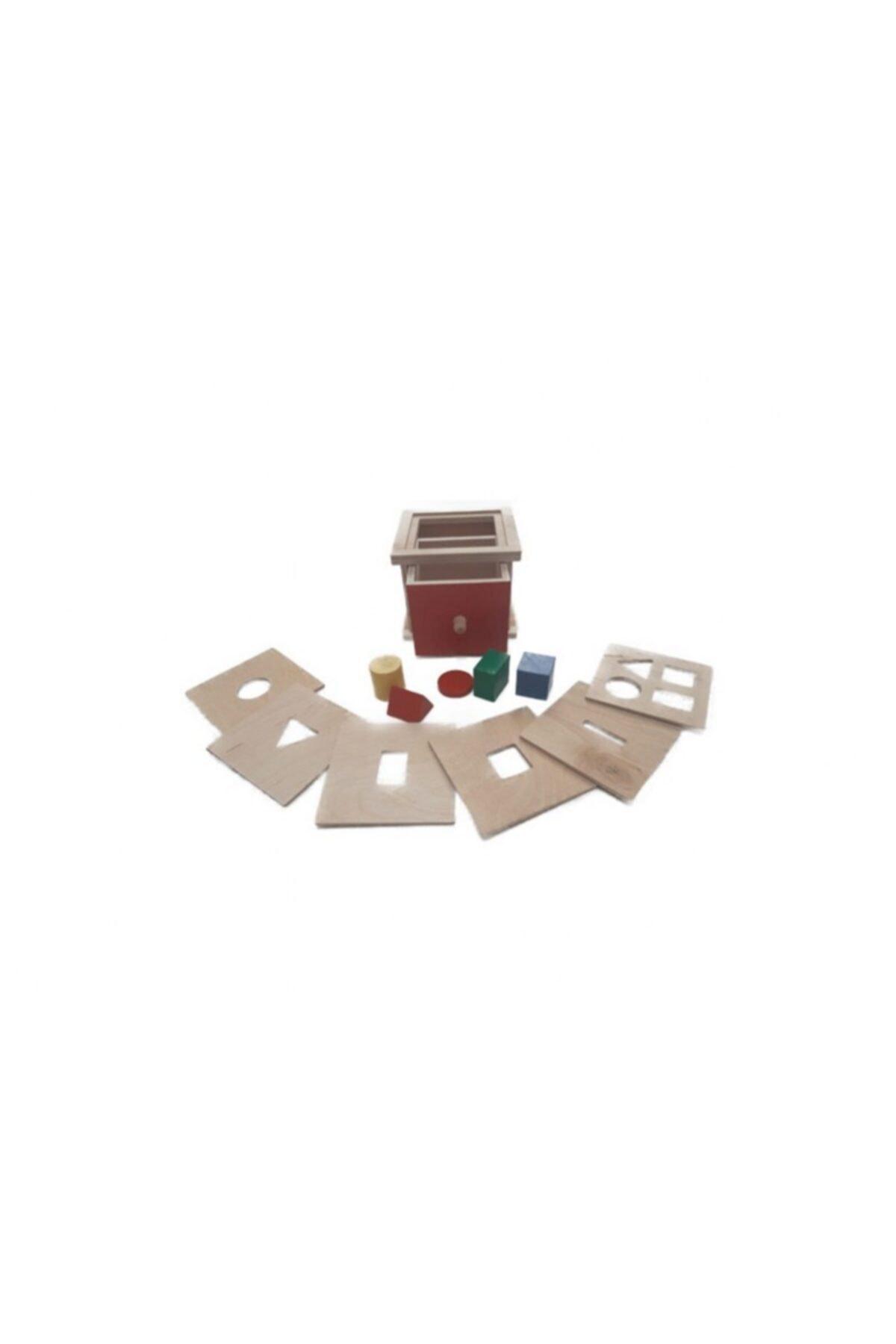 Montessori Gemisi Çok Kapaklı Karar Kutusu(toddler) 1