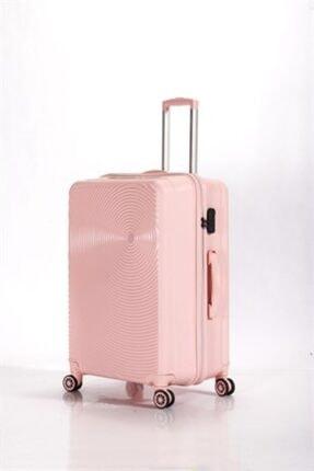 ALBATROS Joıa Pp108 618 Pp Valiz Light Pink Büyük Boy