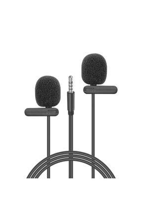 Snopy Sn-m60 Siyah 2 Mikrofonlu Akıllı Telefon Ve