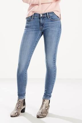 Levi's Kadın Kot Pantolon Taşlanmış Mavi 17778-0166