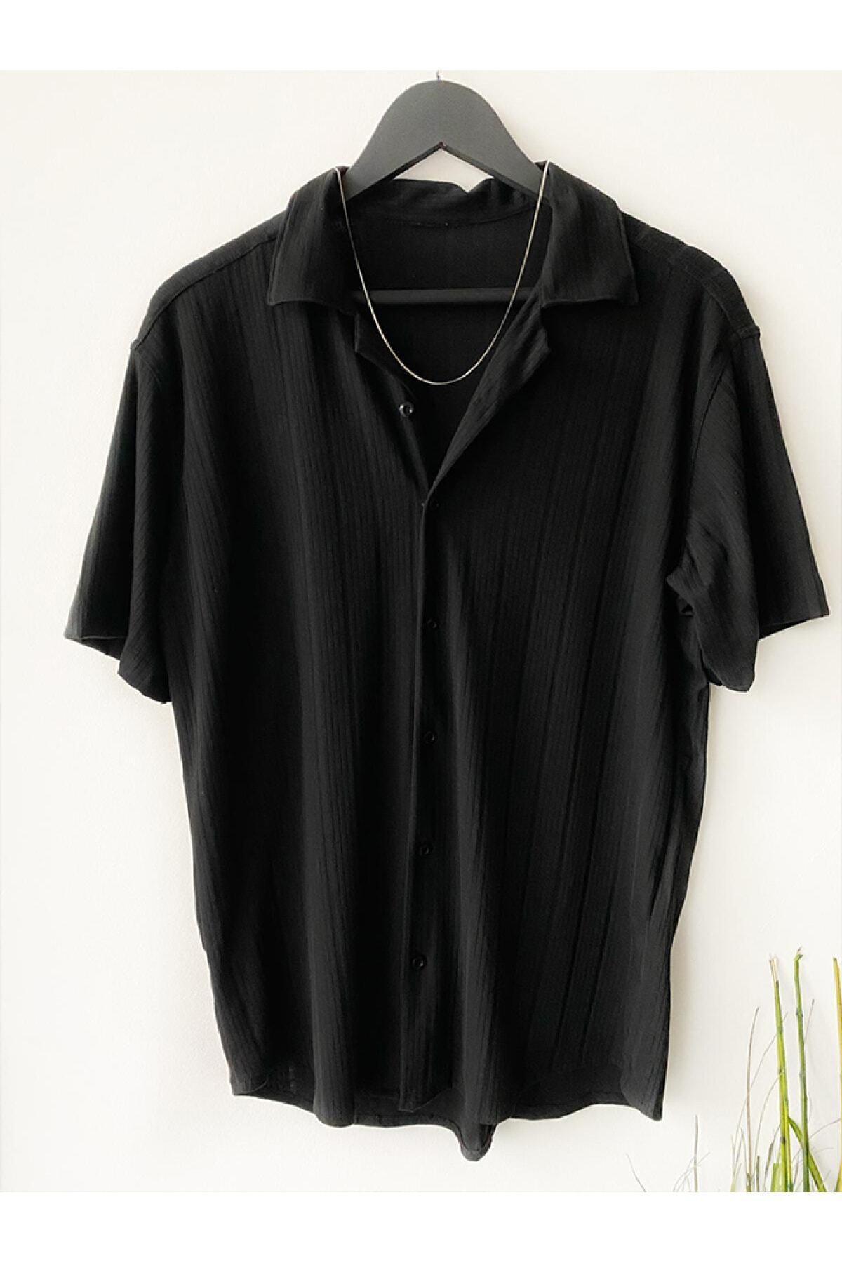 A&O Style Erkek Yazlık Kısa Kollu Gömlek 1