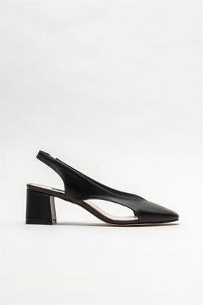Elle Kadın Siyah Topuklu Ayakkabı