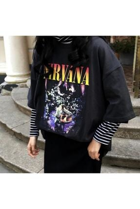 Köstebek Nirvana - ( Kurt Cobain ) Mtv Unplugged Unisex T-shirt