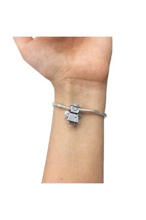 My Story Çiçek Bella Pandora Bileklik İçin Gümüş Charm