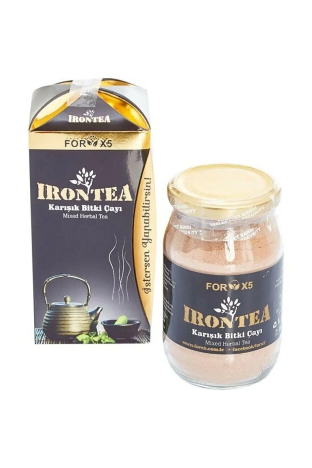 İroni For X5 Iron Tea Karışık Bitki Çayı 2 X 250 ml 1