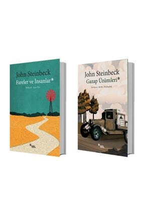Sel Yayıncılık Fareler Ve Insanlar + Gazap Üzümleri - John Steinbeck