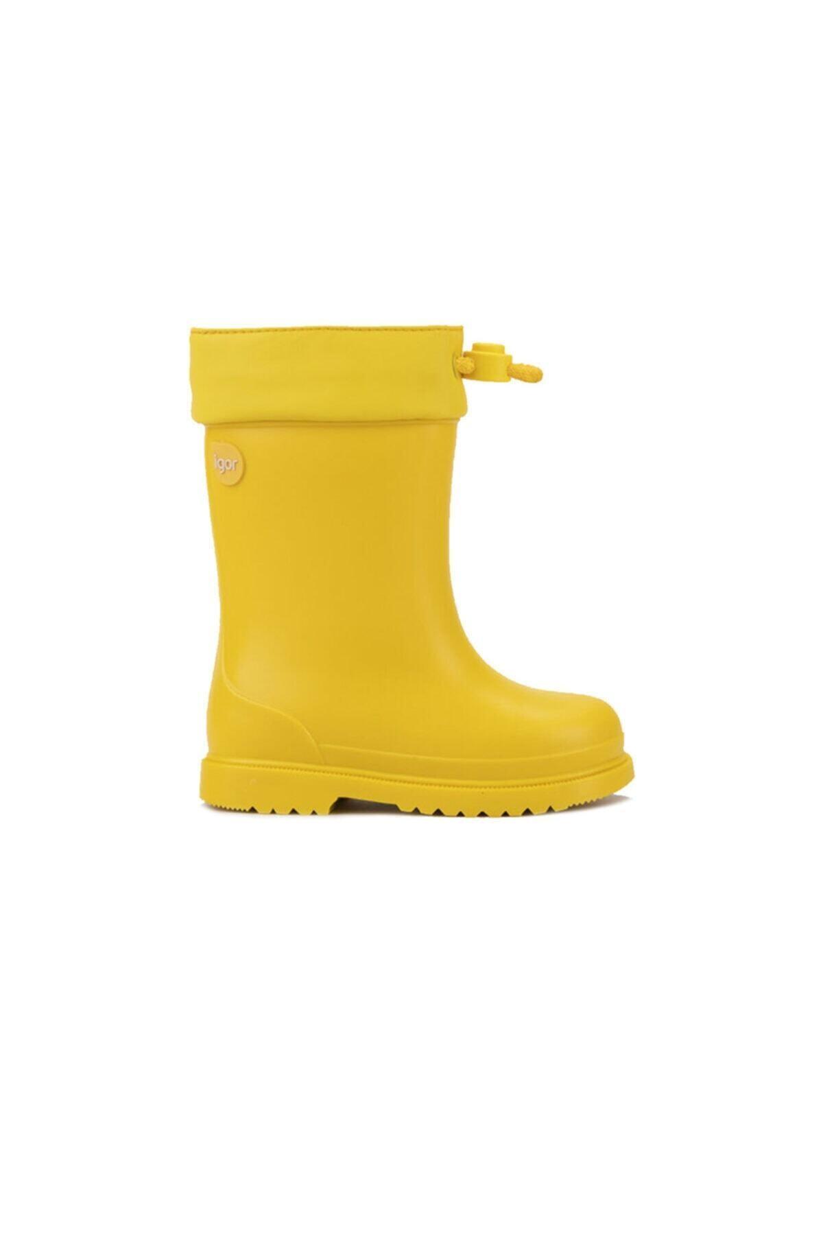 IGOR W10100 Chufo Cuello-008 Sarı Unisex Çocuk Yağmur Çizmesi 100386307 1