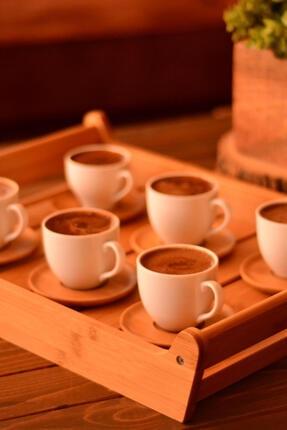 Bambum Meyo - 6 Kişilik Kahve Fincan Takımı B0294