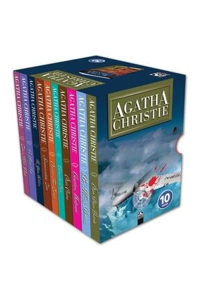 Altın Kitaplar Agatha Christie Serisi 10 Kitap Set (eko Boy)