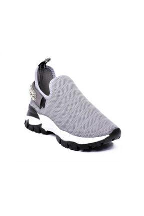 Markopark Kadın Gri Günlük Ayakkabı 503 21y