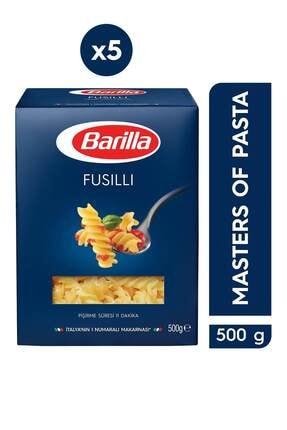 Barilla Burgu / Fusilli Makarna 500 Gr 5'li