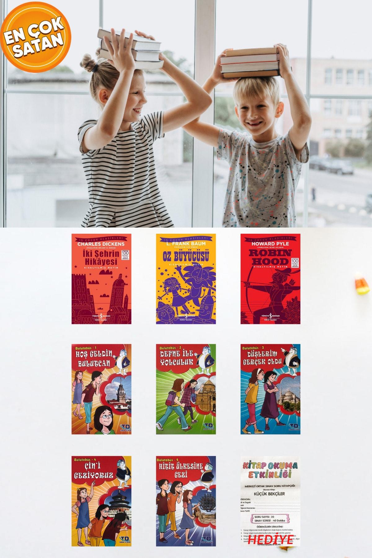 İş Bankası Kültür Yayınları 3. Ve 4. Sınıflar Için Okumayı Sevdiren Rengarenk Çocuk Klasikleri Ve Öykü Seti 1