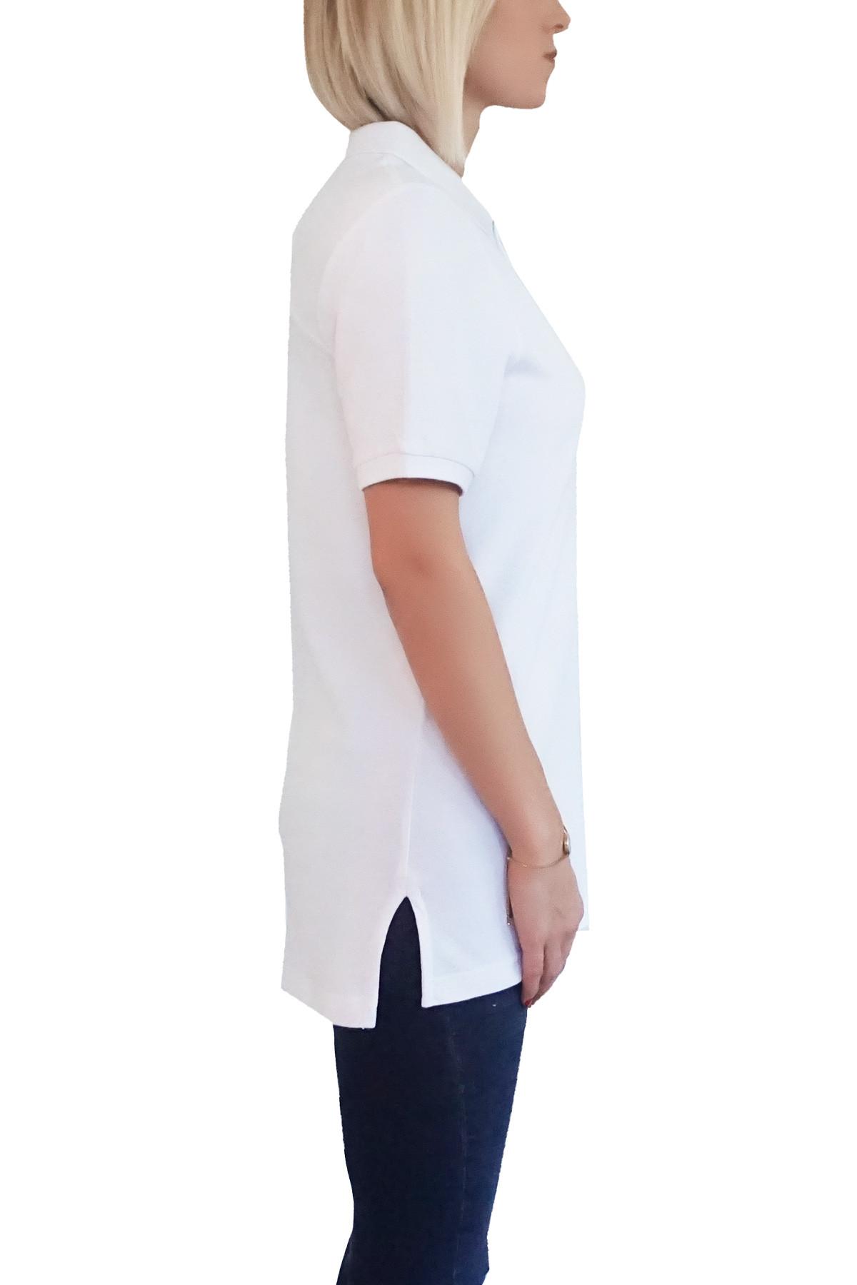 MOF Kadın Beyaz T-Shirt POLO-F-B 2