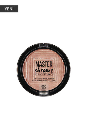 Maybelline New York Metalik Aydınlatıcı - Master Chrome Metallic Highlighter Molten Rose Gold