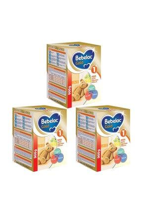 Bebelac Gold 1 Devam Sütü 900 gr. 3'lü