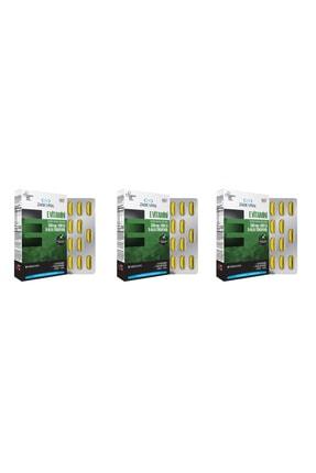 Zade Vital E Vitamini Blister 30 Kapsül 3'lü Paket