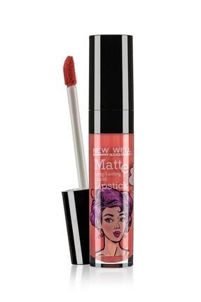 New Well Handmade Likit Ruj - Liquid Lipstick 584 6 ml 8680923315843