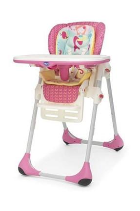 Chicco Polly Çift Kılıflı Mama Sandalyesi Marine  /