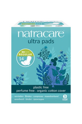 Natracare Ultra Kanatlı Ped Regular