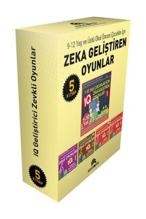 Ekinoks 9-12 Yaş ve Üstü Çocuklar İçin Zeka Geliştiren Oyunlar - 5 Kitap Takım - Bahar Çelik