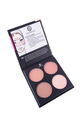 Cocosh She Kontür Paleti - Define Beauty Contour Palette 4'lü Set 8681569722019