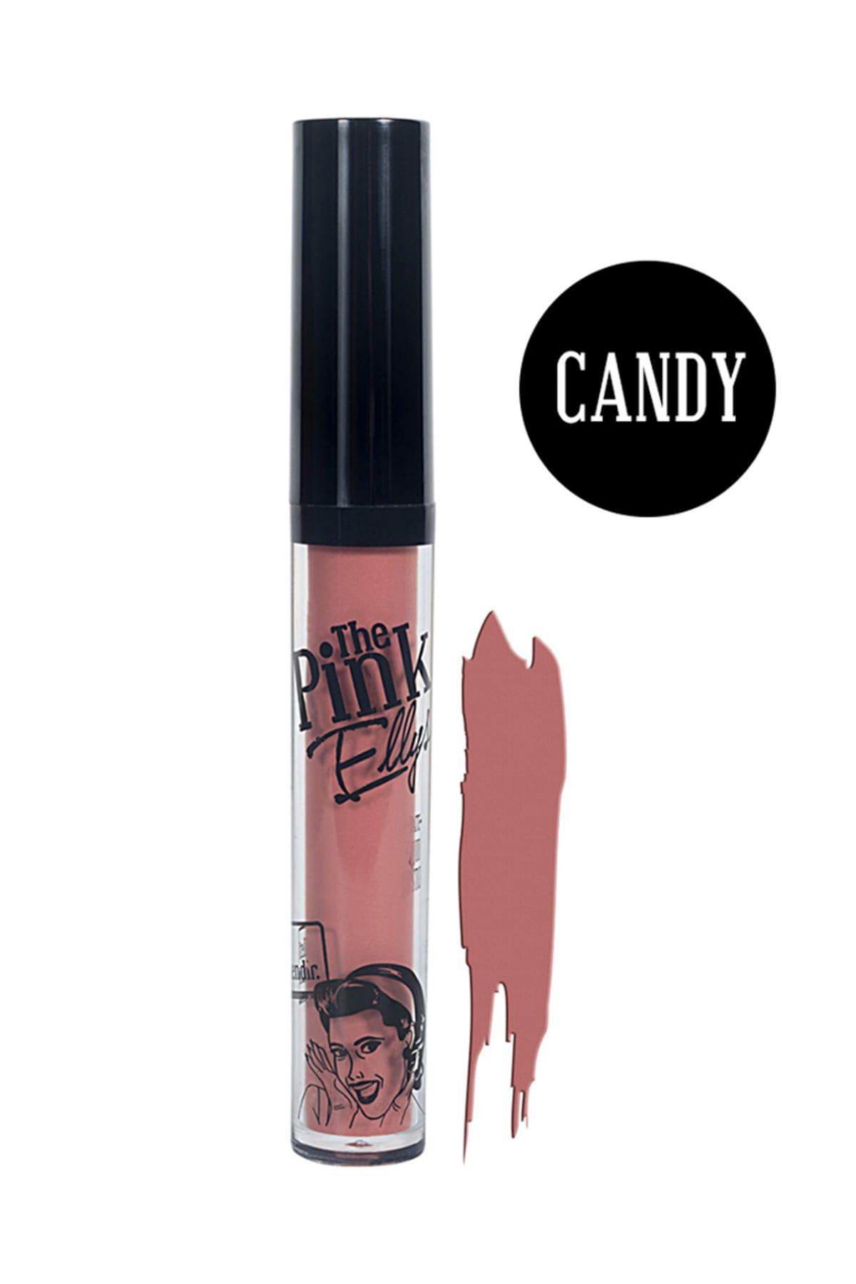 The Pink Ellys Likit Kalıcı Mat Ruj Candy 8692187770115 1