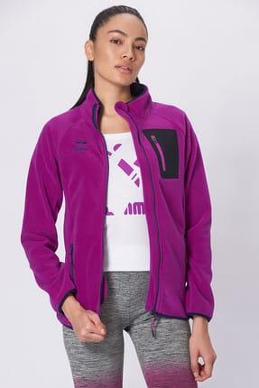 HUMMEL Kadın Sweatshirt Hmltewın Poly Zıp Jacket