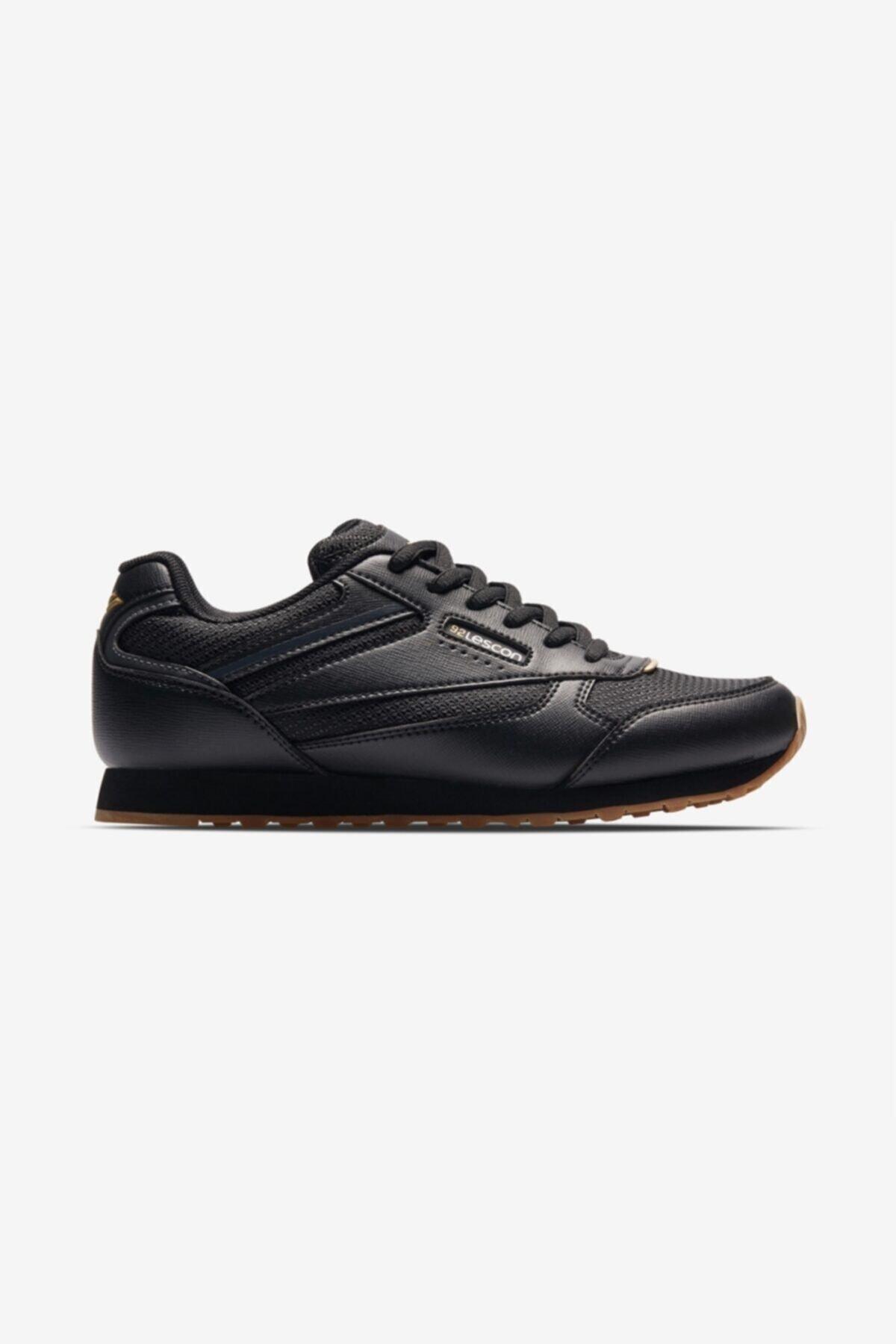 Lescon Kadın Siyah Sneaker Ayakkabı L-6618 1