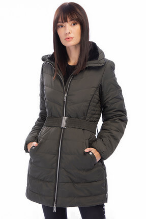 Vero Moda Kadın Haki Mont 10198996