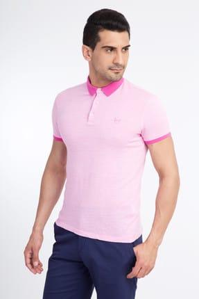 Kiğılı Erkek Pembe Polo Yaka T-Shirt - 43334