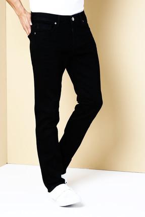 Colin's ERKEK 044 Karl Düşük Bel Düz Paça Straight Fit Siyah Erkek Jean Pantolon CL1031096