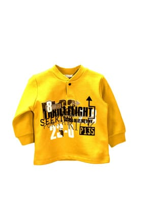 Zeyland Küçük Erkek Çocuk S-Shirt SARI 6-9 Ay