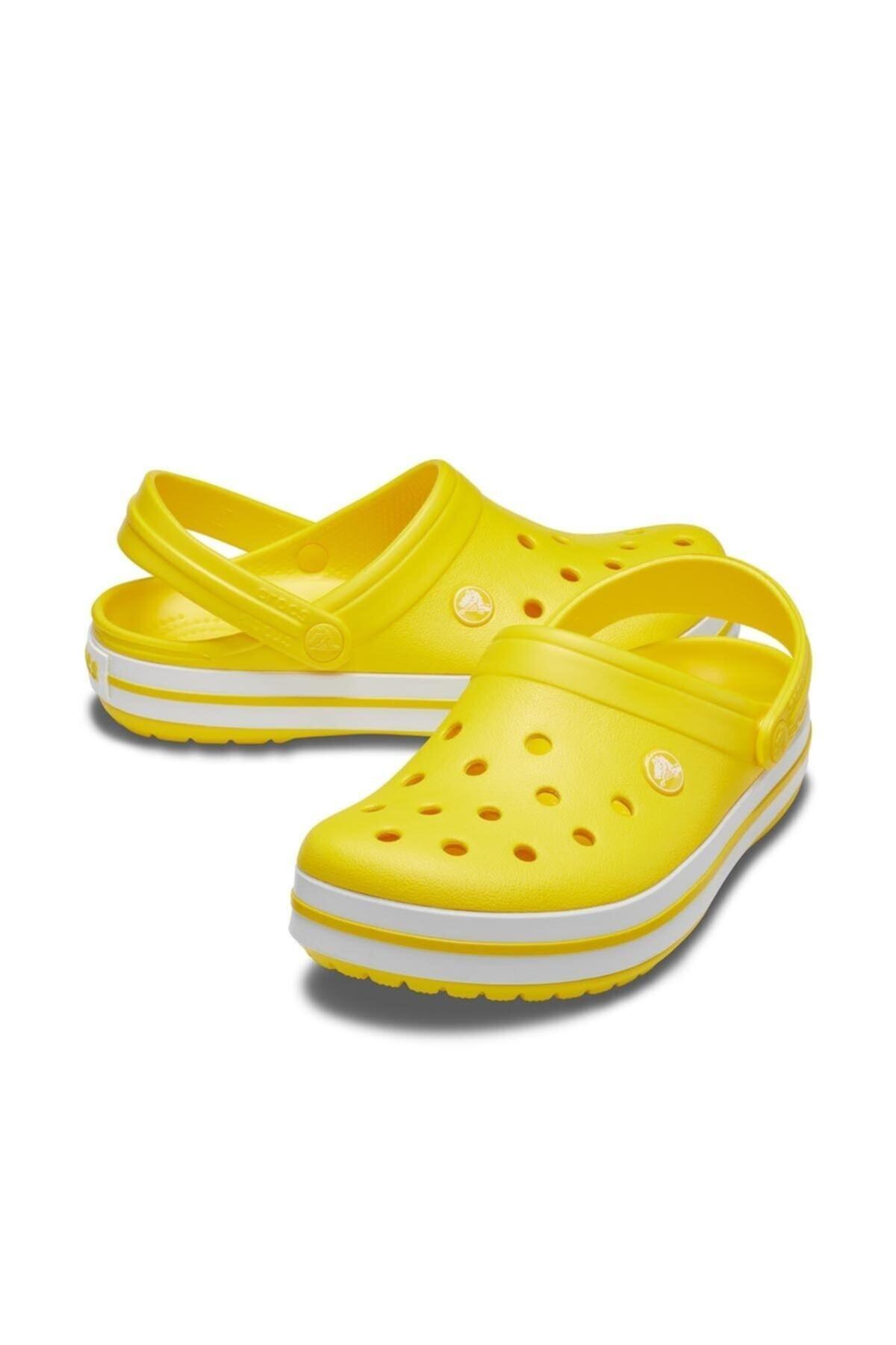 Crocs Sarı Beyaz Terlik 2