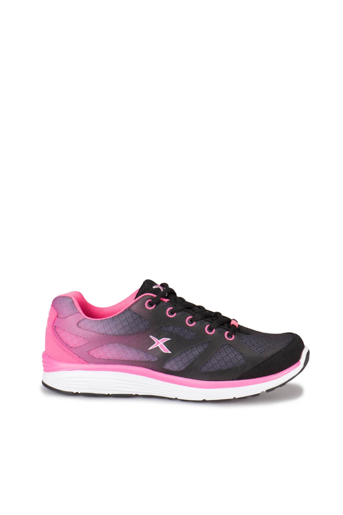 Kinetix A1315671 Fuşya Siyah Kadın Koşu Ayakkabısı 100223305 2