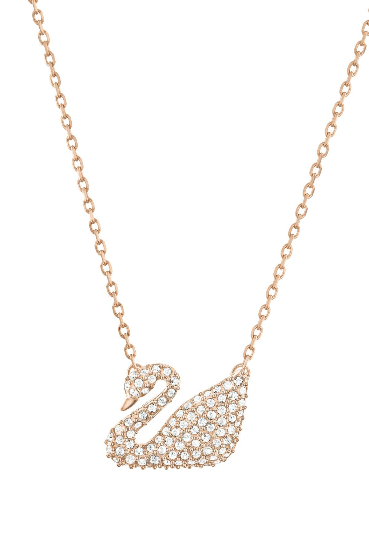 Swarovski Kadın Kolye Swan:Necklace Cry/Ros 5121597 2