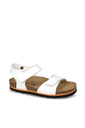 Ceyo Beyaz Çocuk Sandalet 01554
