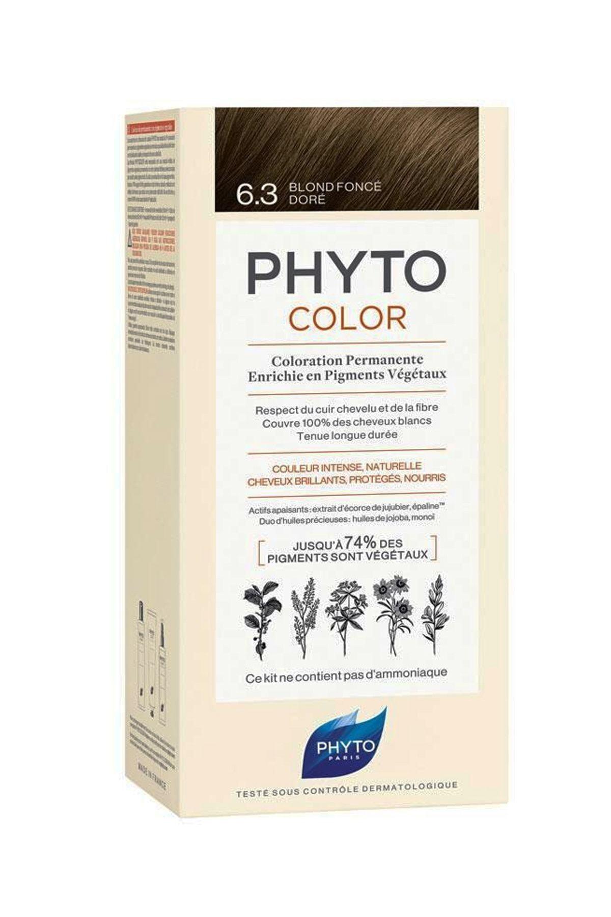 Phyto Color 6.3 - Koyu Kumral Dore 1