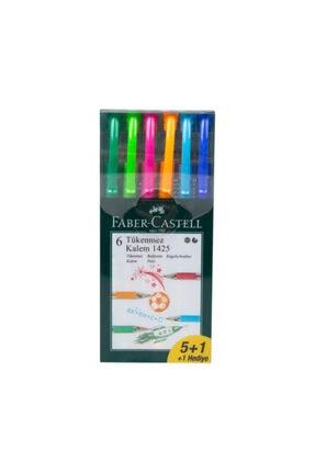 Faber Castell Tükenmez Kalem 5+1 142557