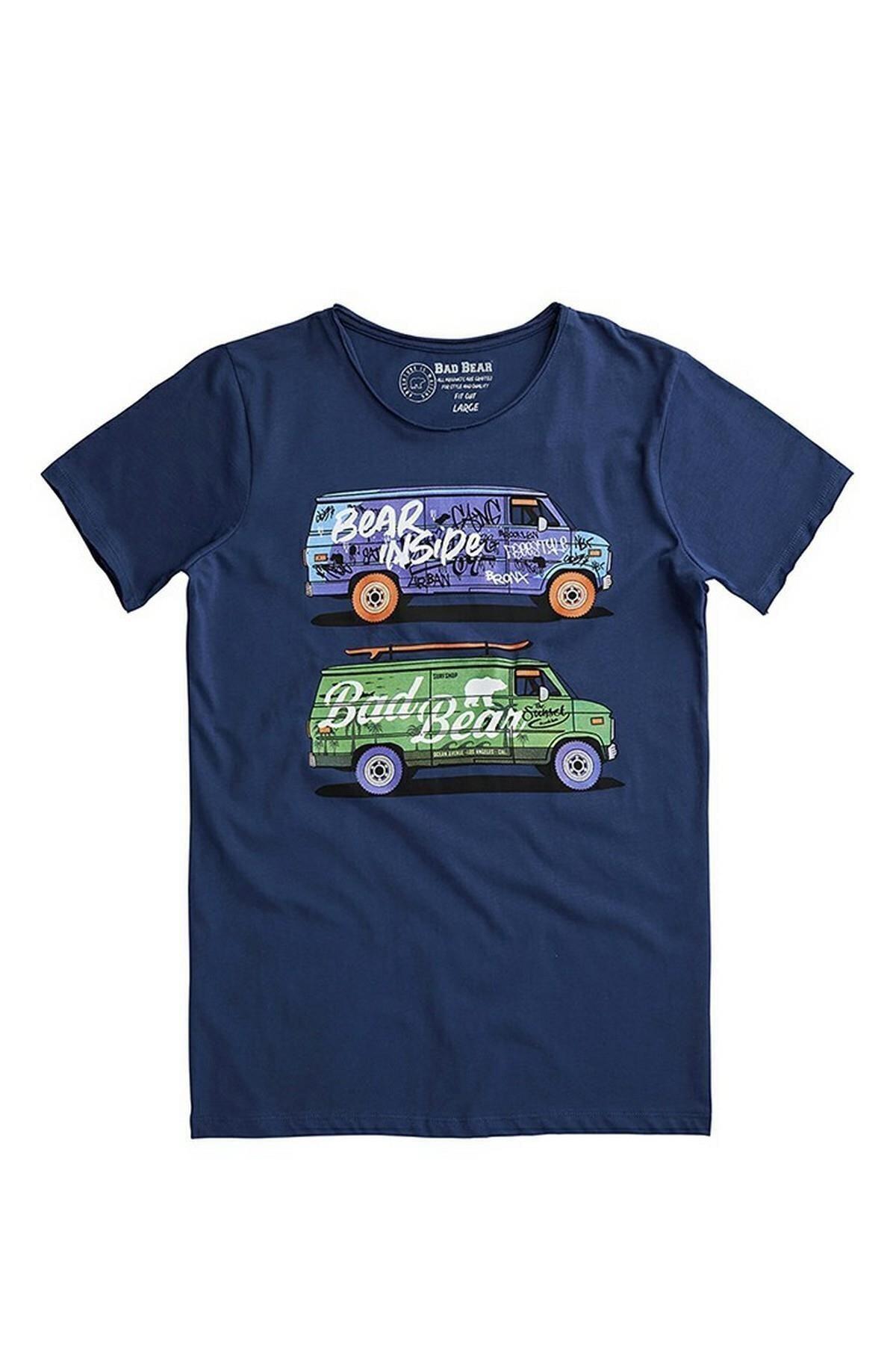 Bad Bear Erkek Baskılı T Shirt 20.01.07.017 2
