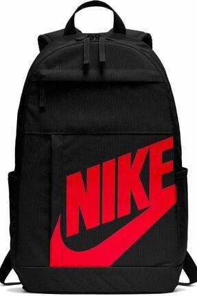 Nike Unisex Siyah Kırmızı Detaylı Sırt Çantası