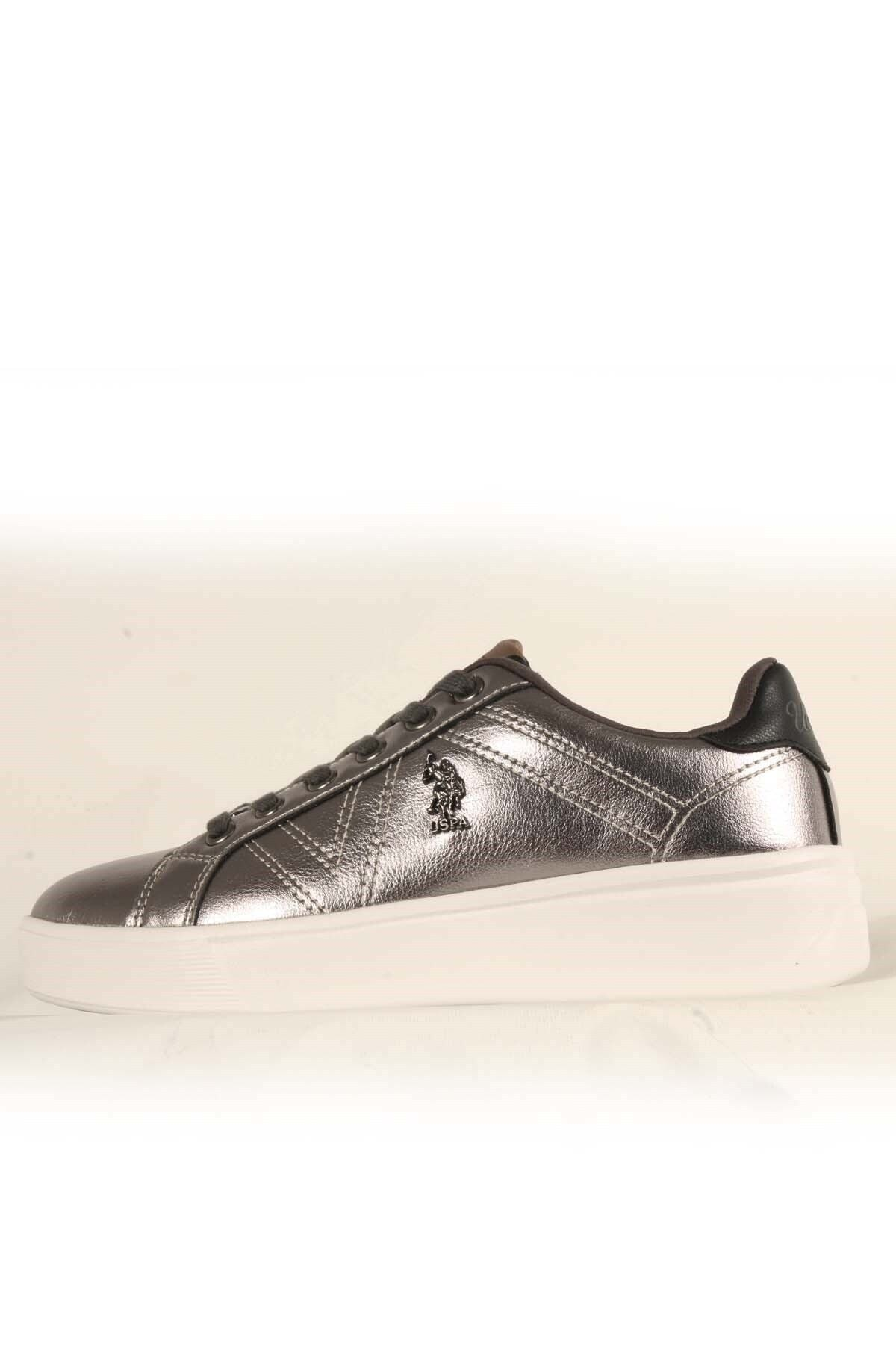 U.S POLO EXTRA Gümüş Kadın Havuz Taban Sneaker 100551351 1